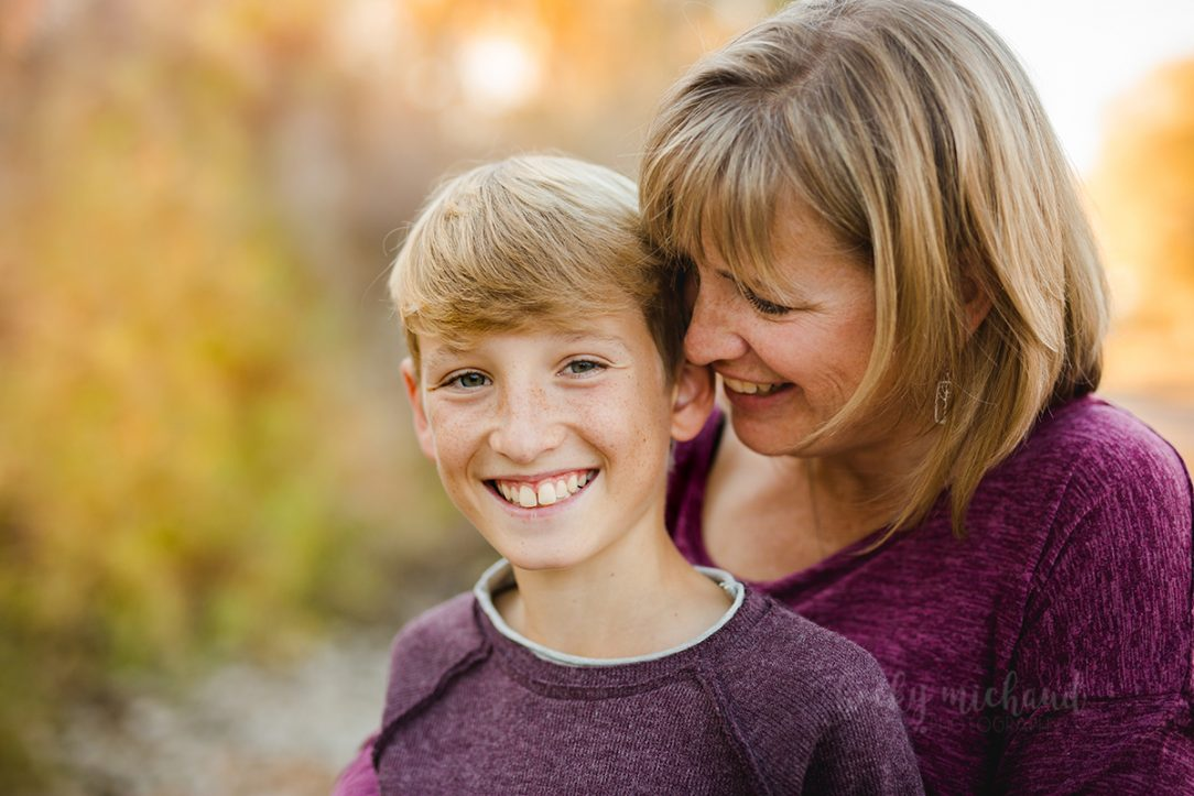 Fort Collins photographer Becky Michaud captured this photo of a mom with her son