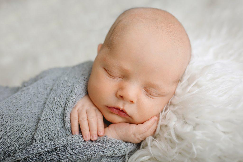 Newborn baby photo taken by Becky Michaud, Fort Collins Photographer