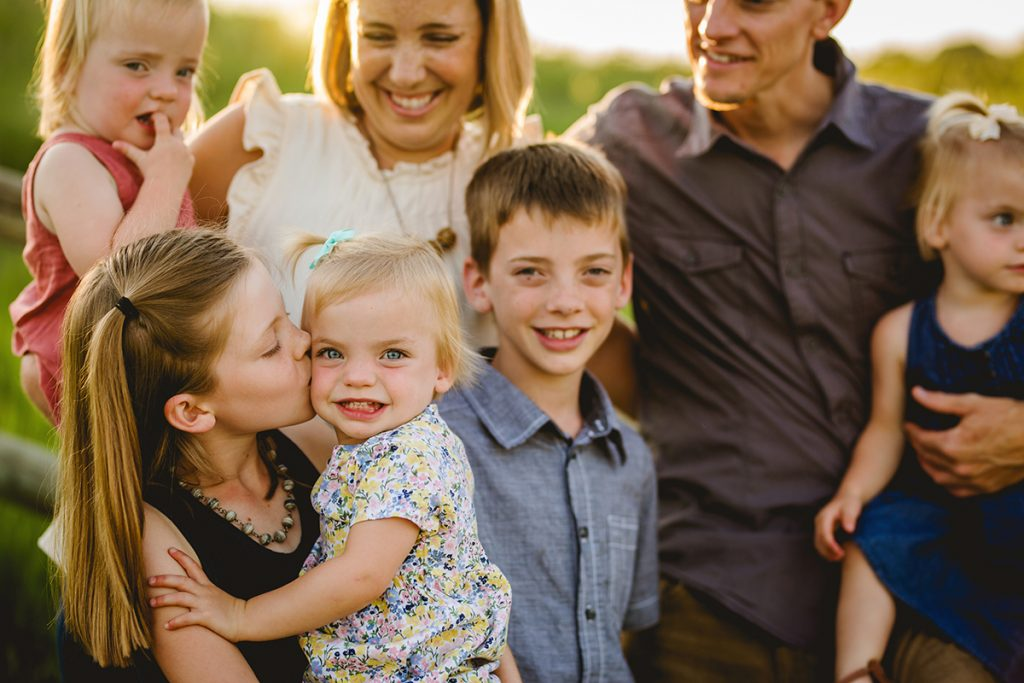 Family photography in Fort Collins, Colorado